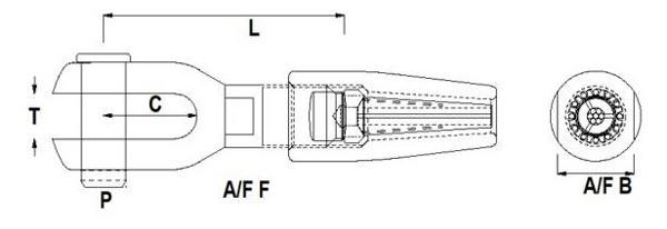 Hi-Mod Fork Terminal Diagram